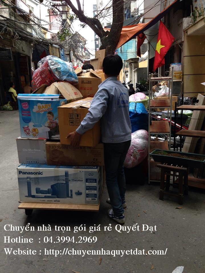 Chuyển văn phòng trọn gói tại phố Khương Trung