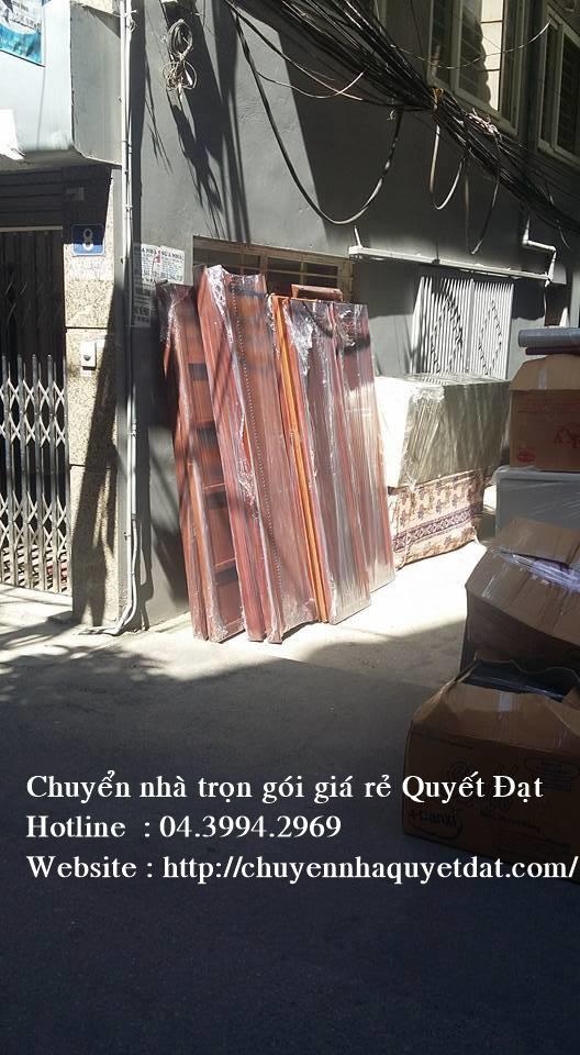 Chuyển nhà tại phố Khương Trung