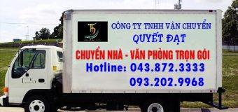 Dịch vụ chuyển nhà trọn gói Quyết Đạt tại phố Miếu Đầm 2019
