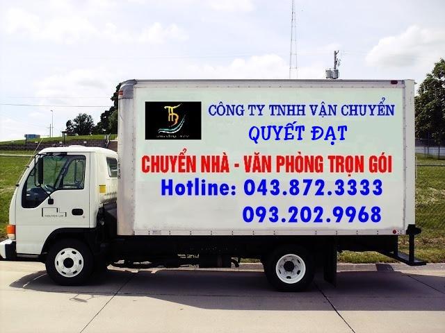 Dịch vụ chuyển nhà trọn gói Quyết Đạt tại phố Đại Linh