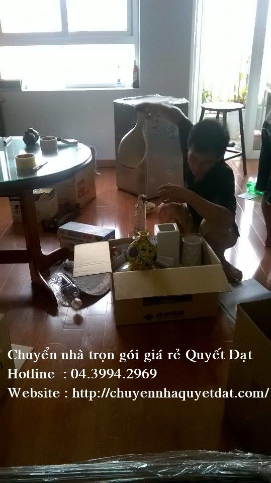 Chuyển nhà giá rẻ tại phố Giải Phóng