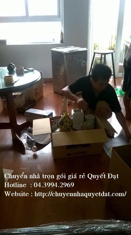 Chuyển nhà giá rẻ tại phố Cự Lộc