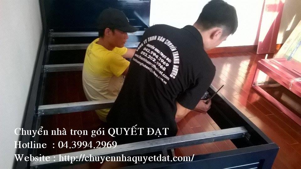 Chuyển văn phòng trọn gói tại phố Nguyễn Ngọc Vũ