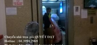 Chuyển nhà trọn gói giá rẻ tại phố Hoàng Quốc Việt