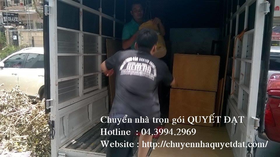 Chuyển nhà trọn gói tại phố Mạc Thái Tông