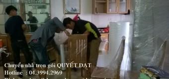 Dịch vụ chuyển nhà trọn gói tại phố Giảng Võ