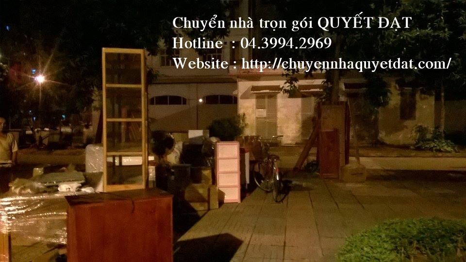 Chuyển văn phòng giá rẻ tại phố Hoa Bằng