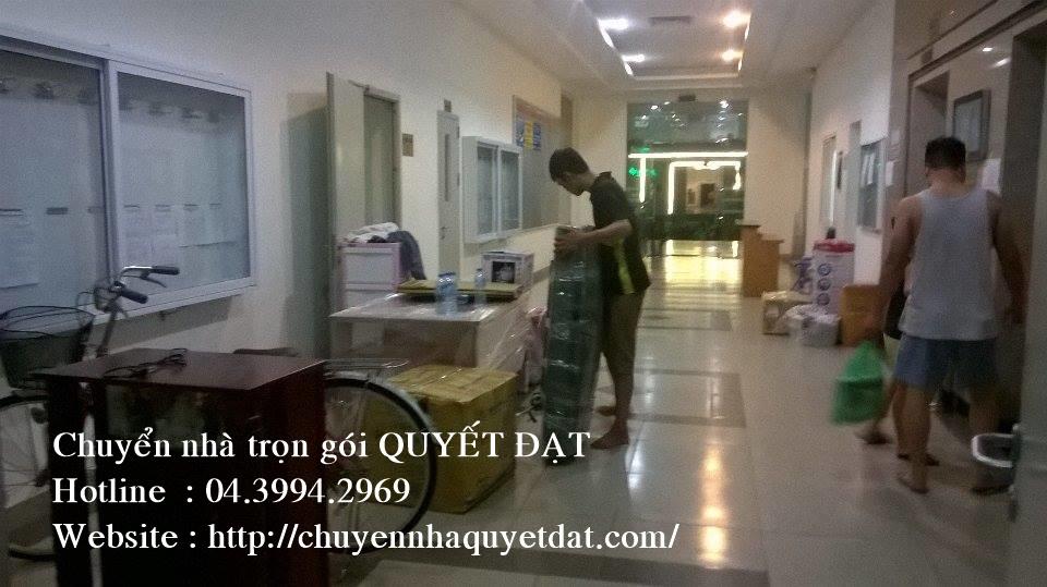 Chuyển văn phòng trọn gói tại phố Đỗ Quang