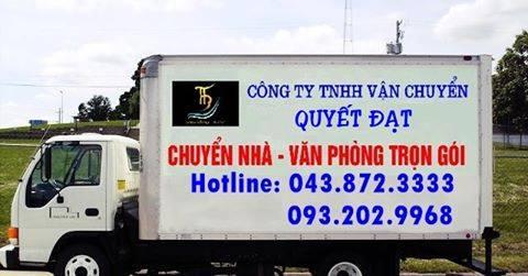 Dịch vụ chuyển nhà giá rẻ Quyết Đạt tại đường Lĩnh Nam
