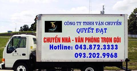 Quyết Đạt chuyển nhà trọn gói tại phố Chu Huy Bân