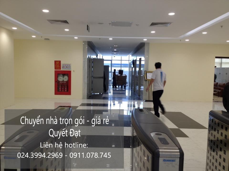 Cho thuê xe tải Quyết Đạt tại khu đô thị Dương Nội