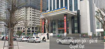 Dịch vụ chuyển nhà tại phố Võ Chí Công