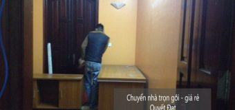 Dịch vụ chuyển nhà trọn gói tại phố Trần Quang Diệu