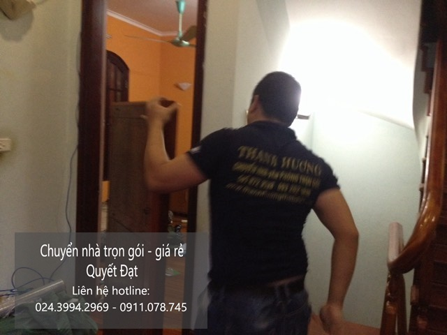 Dịch vụ chuyển nhà trọn gói tại phố Đặng Văn Ngữ