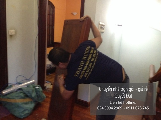 Dịch vụ chuyển nhà chuyên nghiệp tại phố Tô Ngọc Vân
