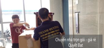 Dịch vụ chuyển nhà trọn gói tại phố Vũ Hữu Lợi