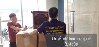 Dịch vụ chuyển nhà Quyết Đạt tại phố Nguyễn Đình Thi
