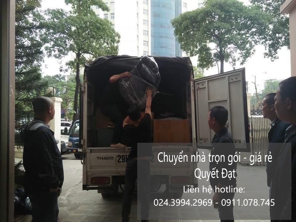 Dịch vụ chuyển nhà tại phố Vạn Phúc