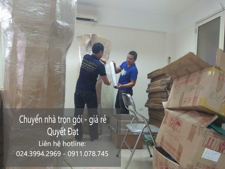 Dịch vụ chuyển nhà Quyết Đạt tại phố Núi Trúc
