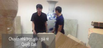 Dịch vụ chuyển nhà Quyết Đạt tại phố Giang Văn Minh