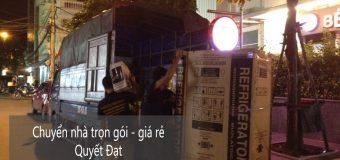 Dịch vụ chuyển nhà trọn gói Quyết Đạt tại phố Nguyễn Khang
