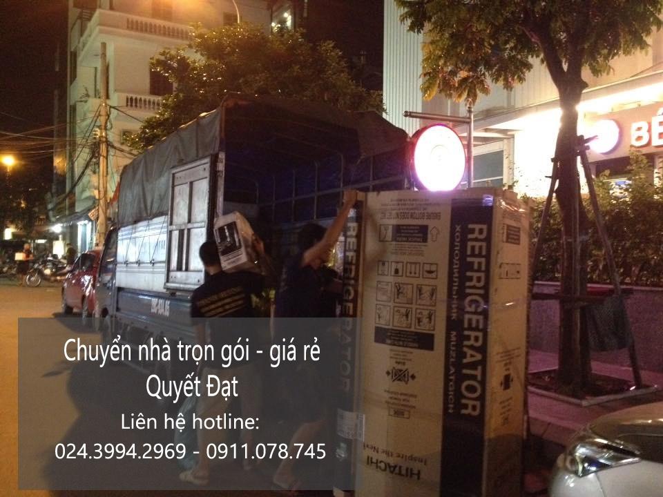 Dịch vụ chuyển nhà Quyết Đạt tại phố Nguyễn Khang