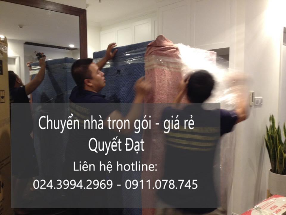 Dịch vụ chuyển nhà Quyết Đạt tại phố Đặng Tiến Công
