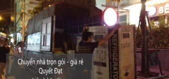 Dịch vụ chuyển nhà Quyết Đạt tại phố Mạc Thái Tổ