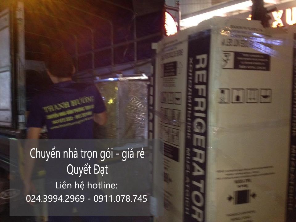Dịch vụ chuyển nhà Quyết Đạt tại phố Khuất Duy Tiến