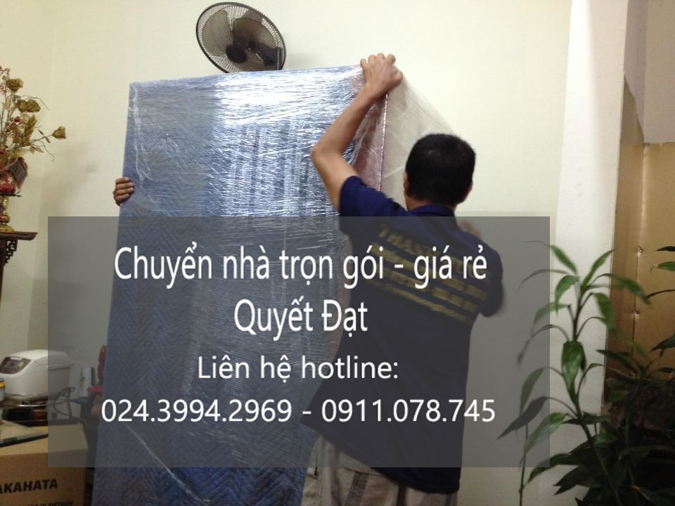 Dịch vụ chuyển nhà Quyết Đạt tại phố Hương Viên