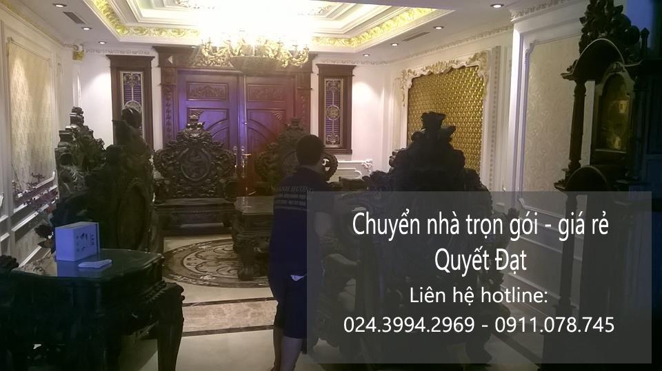 Chuyển nhà trọn gói giá rẻ tại phố Đặng Vũ Hỷ-0932 029 968