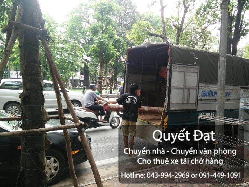 Chuyển nhà trọn gói giá rẻ chuyên nghiệp Quyết Đạt tại phố Cổ Bi