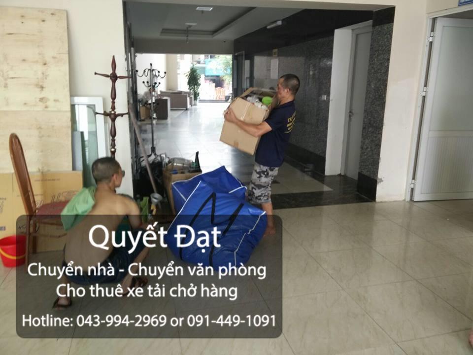 Hình ảnh chuyển nhà trọn gói Quyết Đạt tại phố Cổ Bi