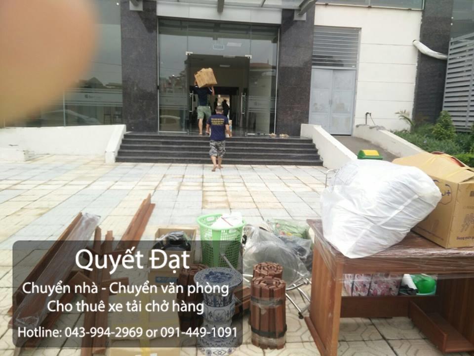 Chuyển nhà Quyết Đạt tại phố Việt Hưng