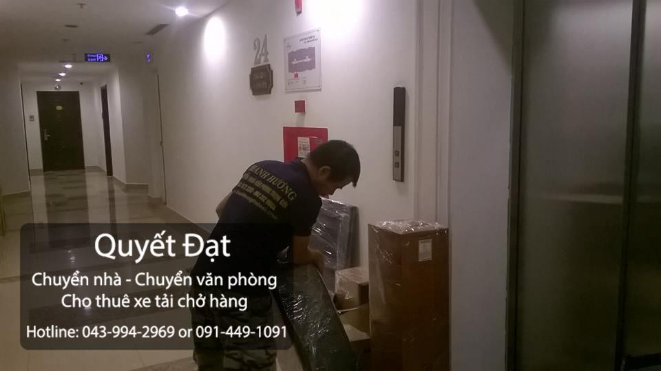 Công ty Quyết Đạt cung cấp dịch vụ chuyển nhà trọn gói tại phố Tân Thụy
