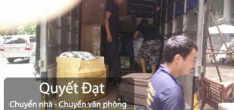 Chuyển nhà trọn gói tại phố Ngô Xuân Quảng