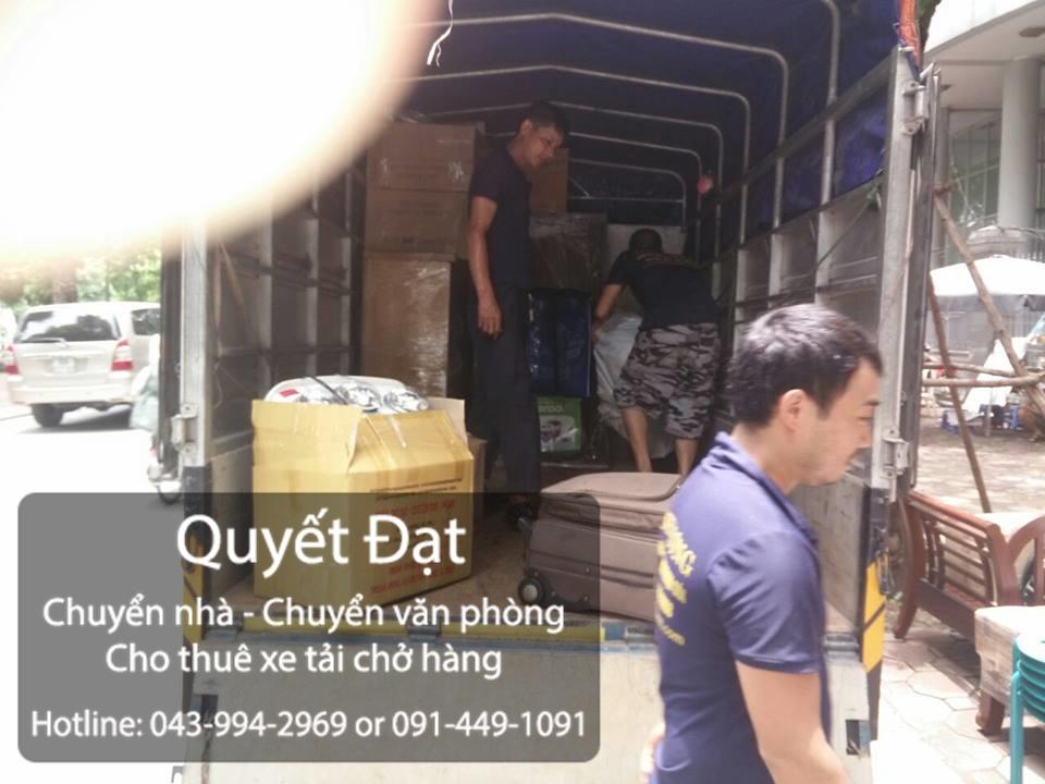 Quyết Đạt dịch vụ chuyển nhà trọn gói tại phố Ngô Xuân Quảng