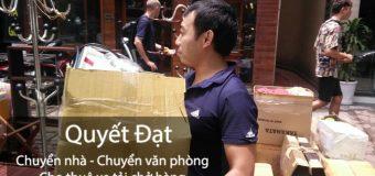 Chuyển nhà trọn gói tại phố Huỳnh Văn Nghệ