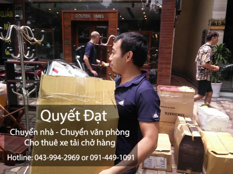 Công ty Quyết Đạt nhận vận chuyển nhà trọn gói giá rẻ tại phố Huỳnh Văn Nghệ