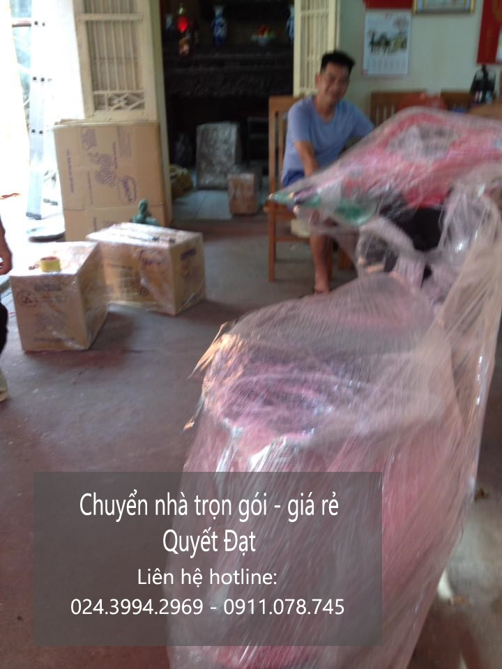 Dịch vụ chuyển nhà trọn gói tại phố Phan Chu Trinh