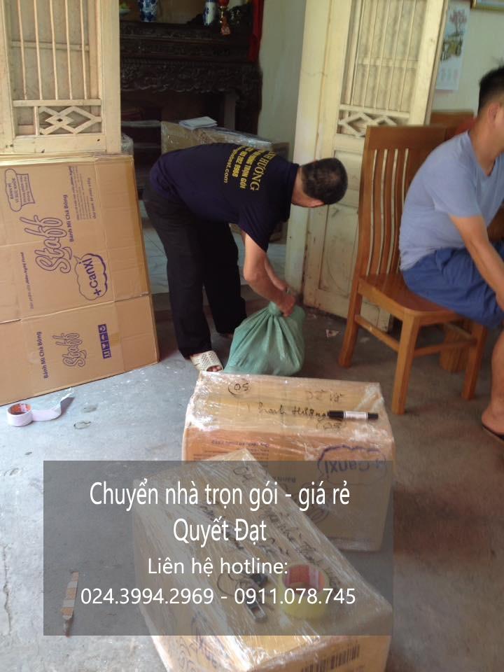 Chuyển nhà trọn gói tại phố Trần Cao Vân