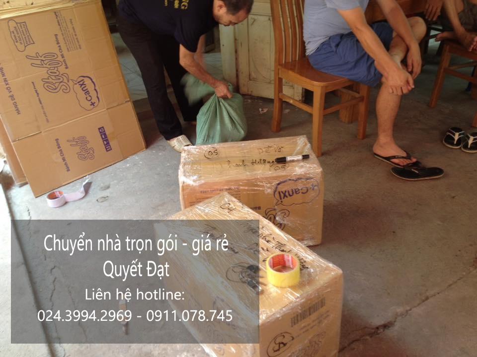 Chuyển nhà Quyết Đạt tại phố Nguyễn Siêu