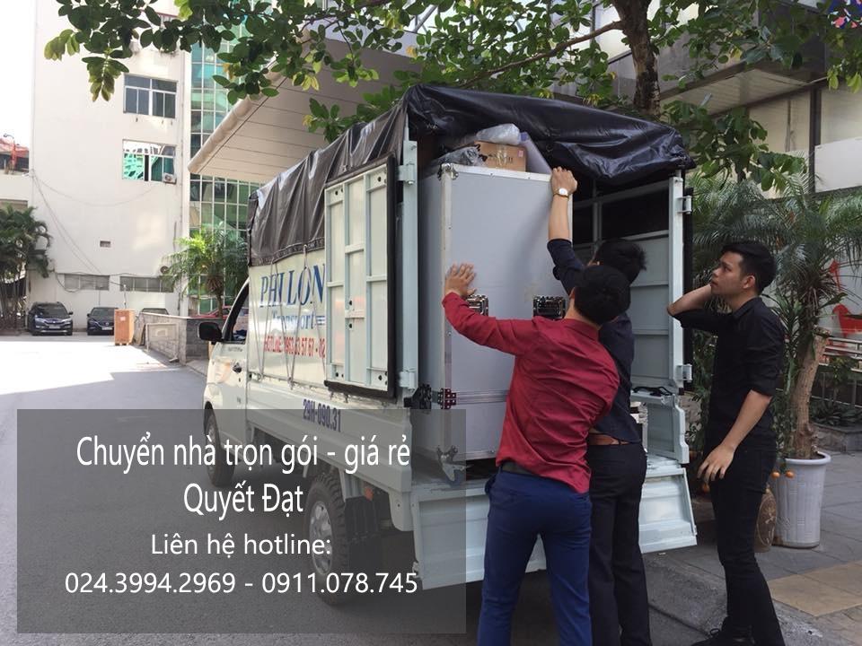Dịch vụ chuyển nhà Quyết Đạt tại phố Đồng Bông