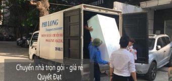 Dịch vụ chuyển nhà Quyết Đạt tại phố Nguyễn Chánh
