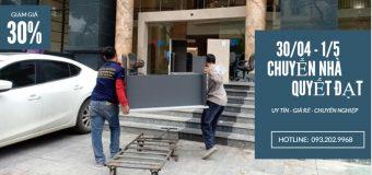 Dịch vụ chuyển nhà trọn gói Quyết Đạt tại phố Cao Thắng giảm giá 30%