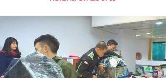 Dịch vụ chuyển nhà Quyết Đạt tại phố Hòe Thị 2019