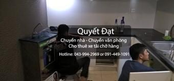 Chuyển nhà trọn gói Quyết Đạt tại phố Nguyễn Sơn
