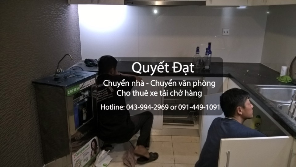 Dịch vụ chuyển nhà Quyết Đạt tại phố Nguyễn Sơn