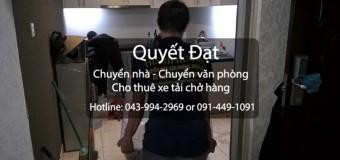 Chuyển nhà trọn gói giá rẻ tại phố Phú Viên