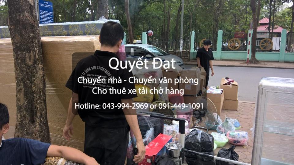 Dịch vụ cho thuê xe tải chuyển nhà giá rẻ chuyên nghiệp tại đường Cổ Linh